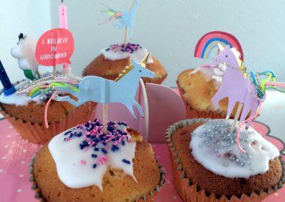Cupcakes thème licorne