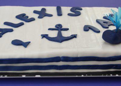 Gâteau déco marin