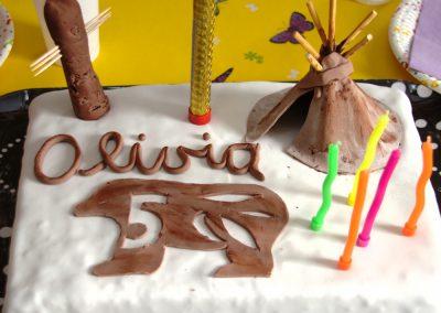 Gâteau thème indiens