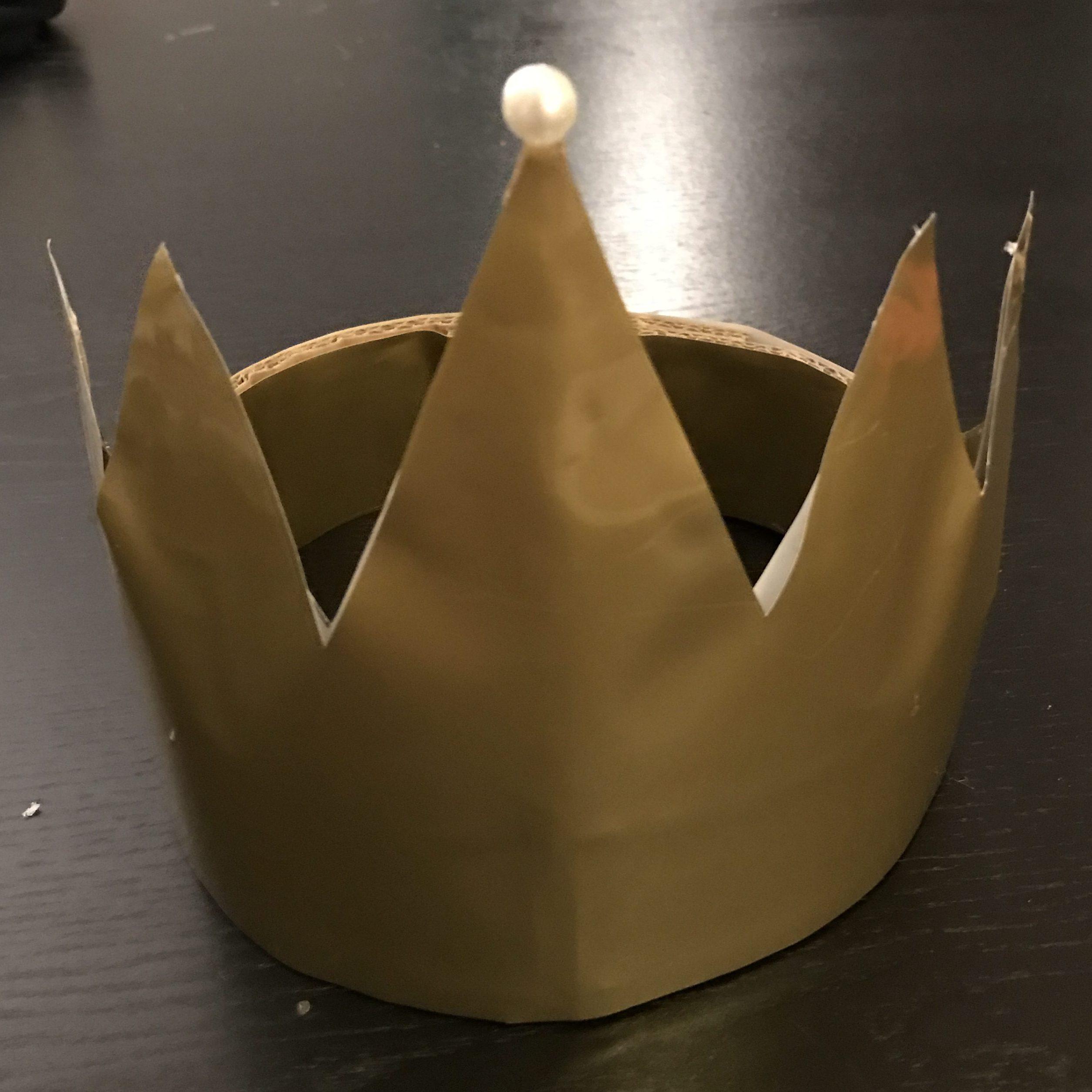DIY couronne de la Reine de Blanche Neige