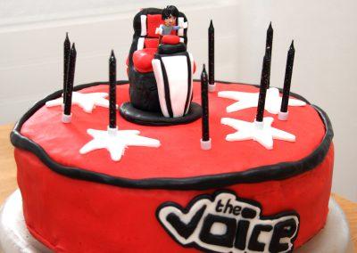 Gâteau The Voice