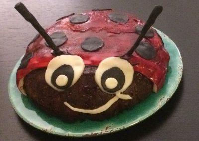 Gâteau coccinelle