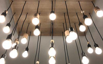 DIY Lustre Multi Ampoules