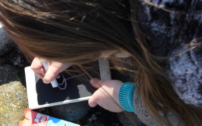 DIY Jouet Smartphone bois et ardoise