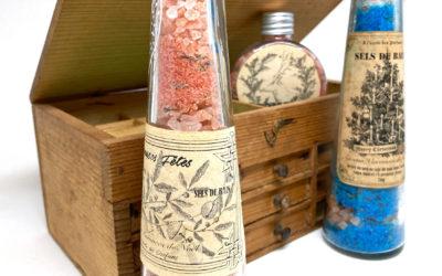 Printable étiquettes pour sels de bain