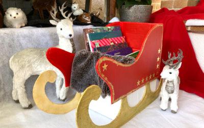 Tuto Traîneau pour livres de Noël